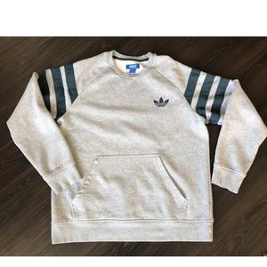 Adidas Sweatshirt with Front Pockets